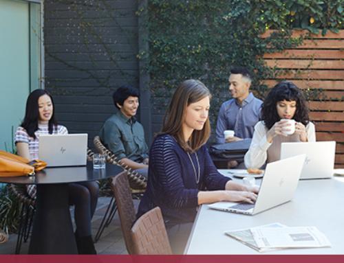 Travailler  plus mobile à la maison, dans un espace de coworking ou dans un coffeeshop