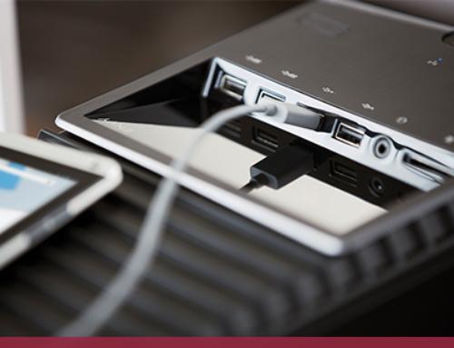 Attention aux ports USB publics