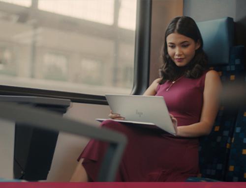 Travailler dans le train. 5 conseils